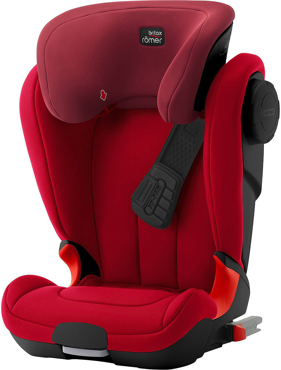 Автокресло Britax Roemer Kidfix XP Sict Black Series Flame Red Trendline, красный цена