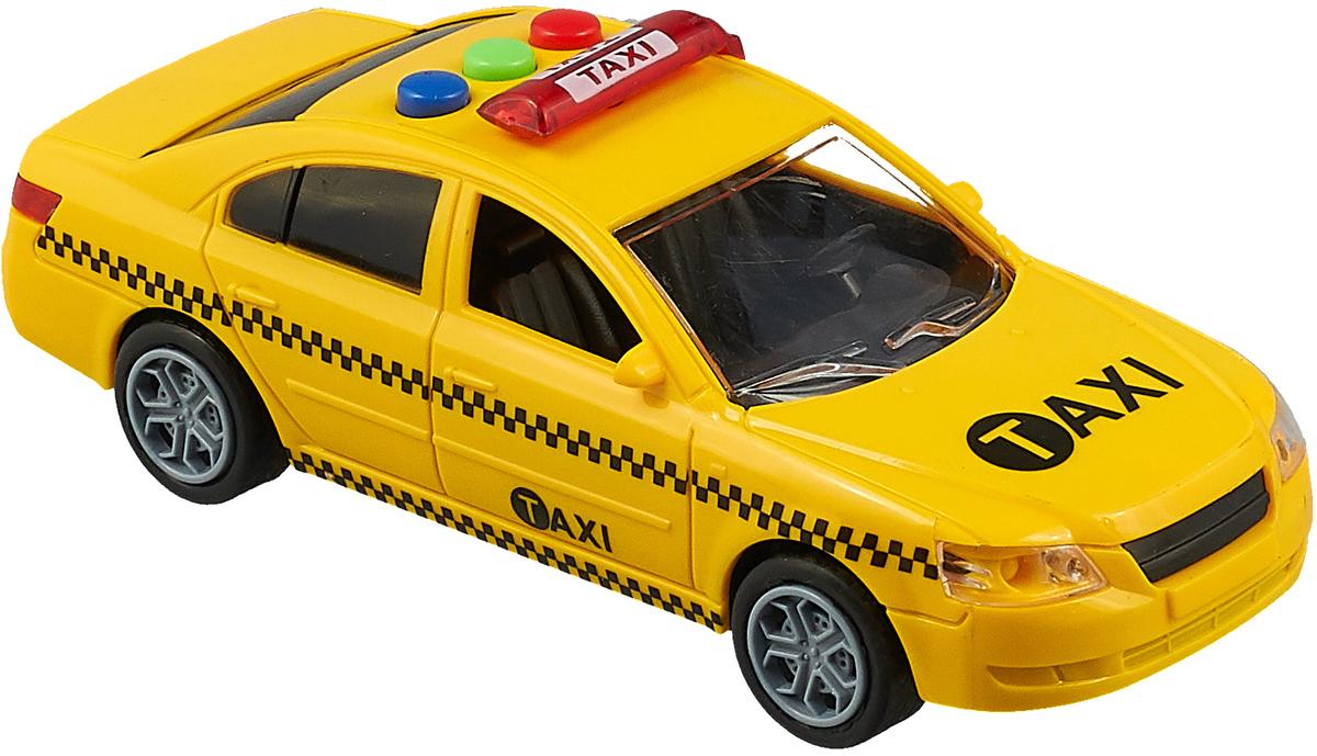 Машинка Junfa Toys Такси, 6663C инерционная машинка best toys машина желтый