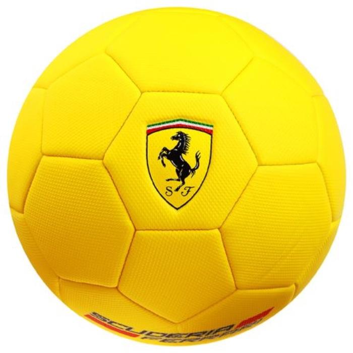 Мяч футбольный MESUCA Мяч футбольный Ferrari №5 (желтый), F666-2, желтый мяч футбольный joerex 5 jis010