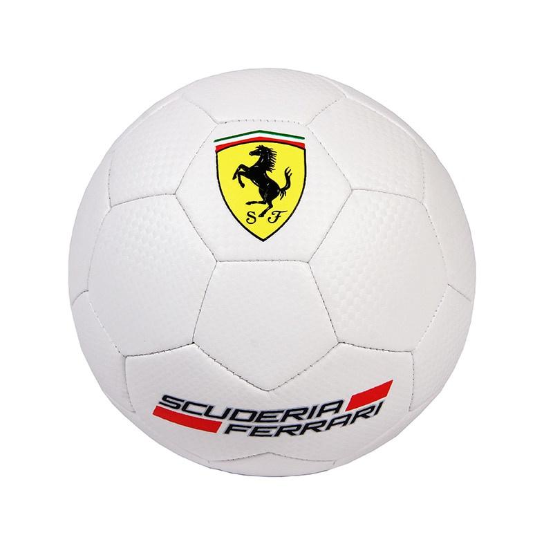 Мяч футбольный MESUCA Мяч футбольный Ferrari №5 (белый), белый гирлянда luazon метраж футбольный мяч 5m ed 20 220v white 2433914