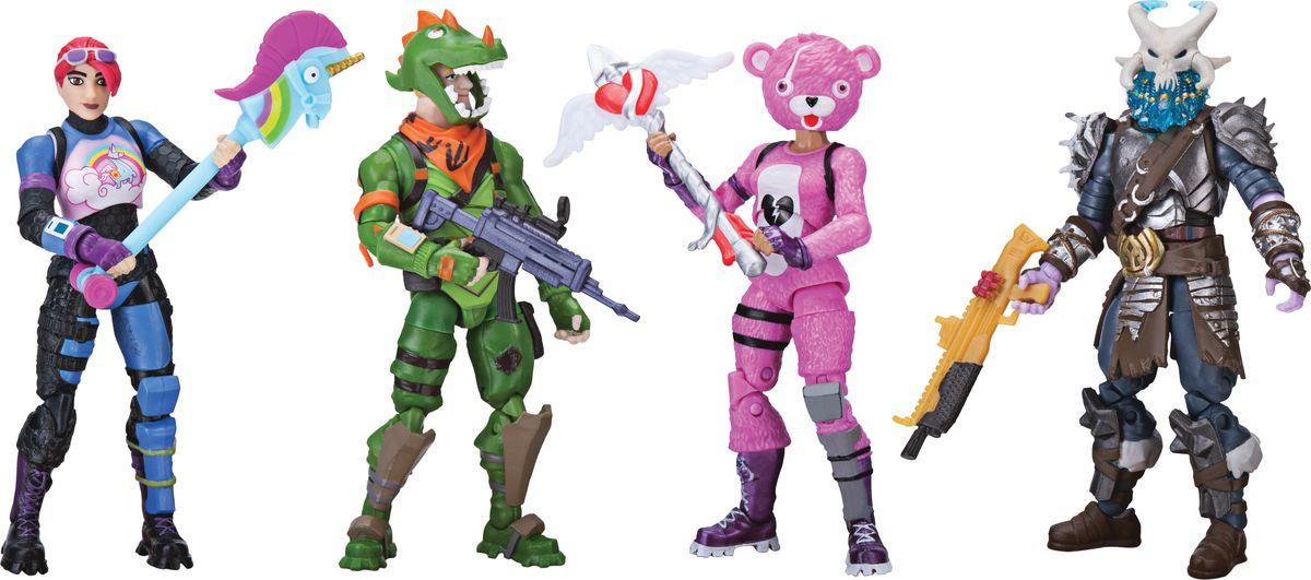Набор фигурок Fortnite 4 шт FNT0019 игровые фигурки 1 toy набор фигурок крысы 6 шт