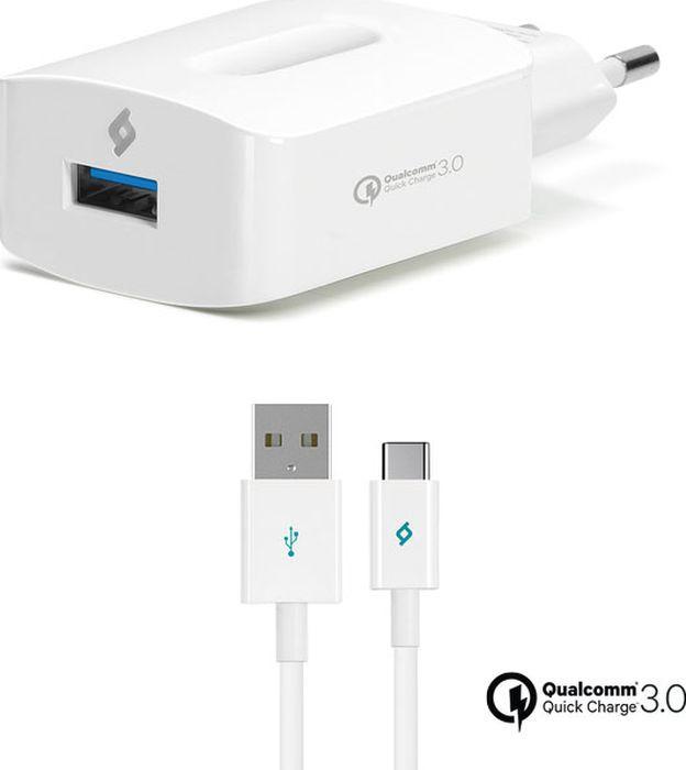 Сетевое зарядное устройство TTEC Speed QC3.0 2SCQC01C, Type-C, белый