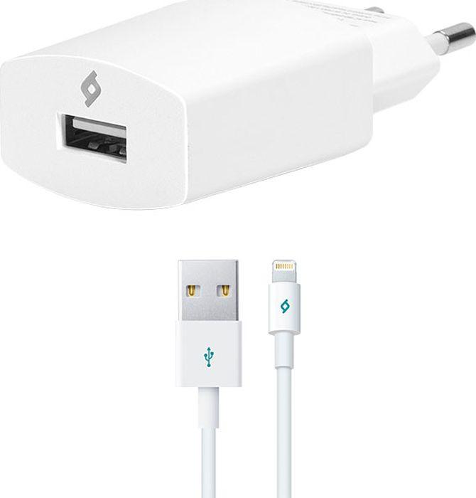 Сетевое зарядное устройство TTEC Speed 2SCS01 2.1A, Micro-USB, белый