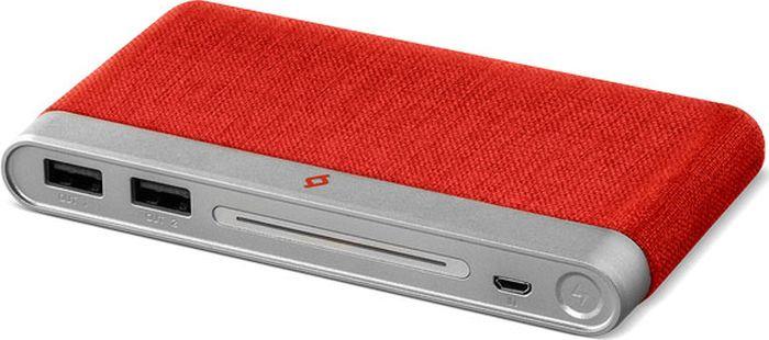 Внешний аккумулятор TTEC PowerTouch 2BB147K 10000 мАч, красный