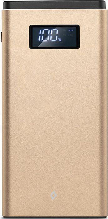 Внешний аккумулятор TTEC AlumiSlim 2BB145A QC3. 0 10000 мАч, золотой TTEC