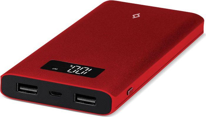 Внешний аккумулятор TTEC AlumiSlim 2BB130K 10000 мАч, красный