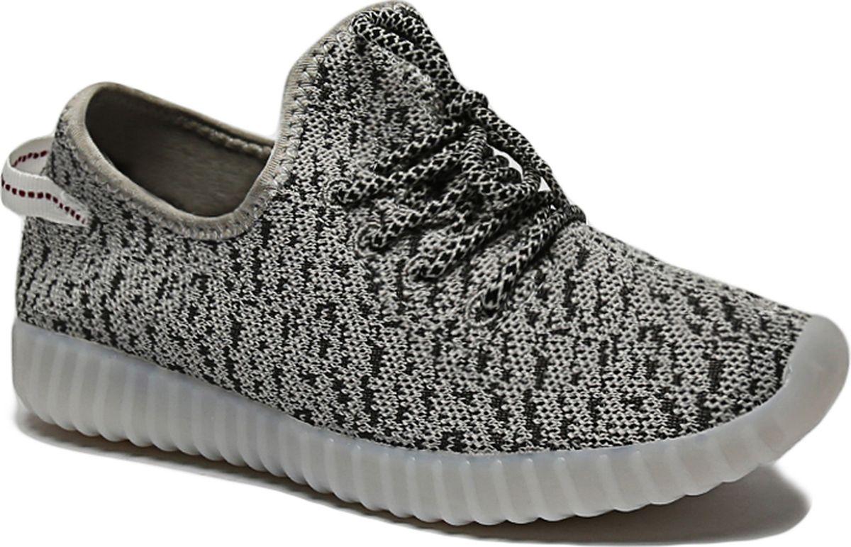 Кроссовки для мальчика Shuzzi, цвет: серый. 130501. Размер 33130501