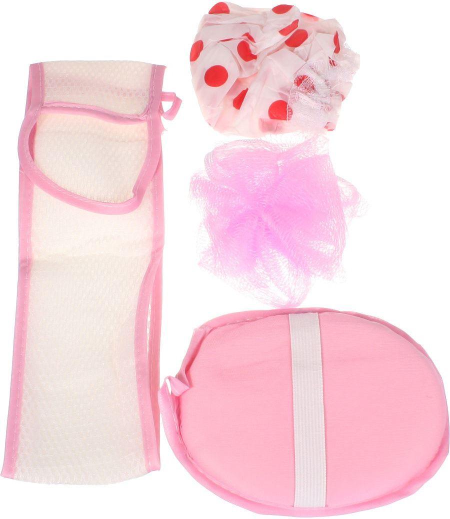 Банный комплект Fidget Go Стандарт, 5512345679284, розовый банный массажер fidget go банный