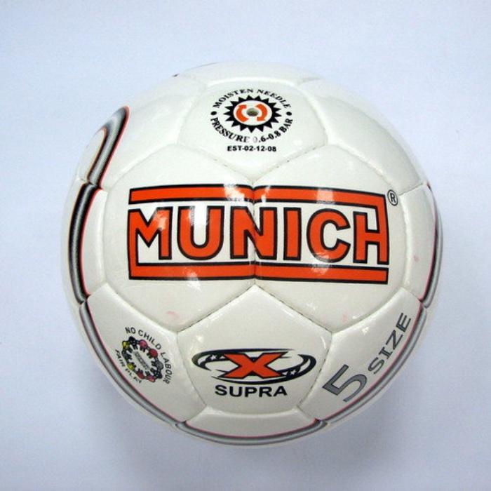 Мяч футбольный MUNICH Мяч футбольный SUPRA №5, белый мяч футбольный fifa 2018 sochi размер 5