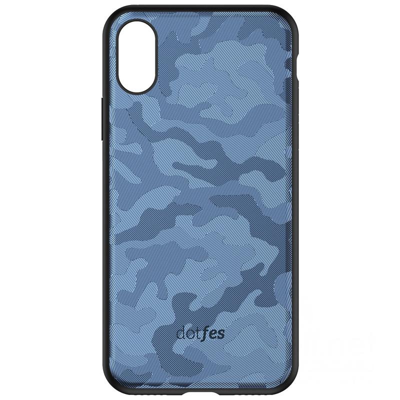 Чехол для сотового телефона Dotfes G07, синий parrot zik 3 croc в комплекте с беспроводным зарядным устройством черный