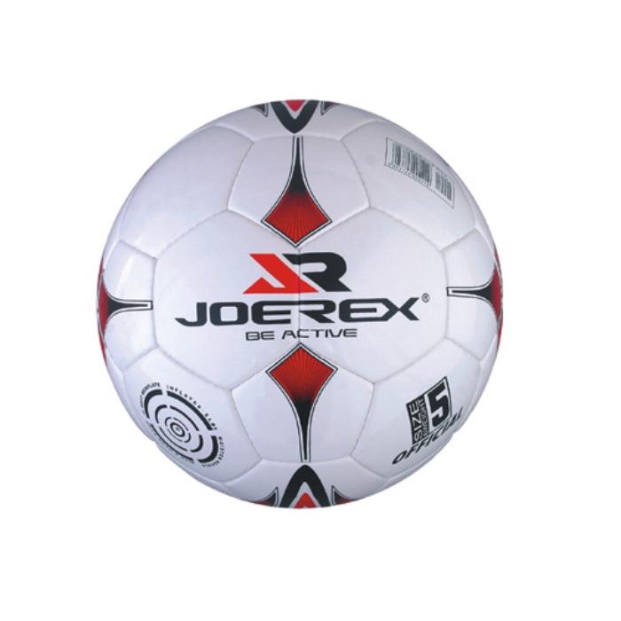 Мяч футбольный JOEREX Мяч футбольный №5, JSO0706-1, белый мяч футбольный joerex 5 jis010