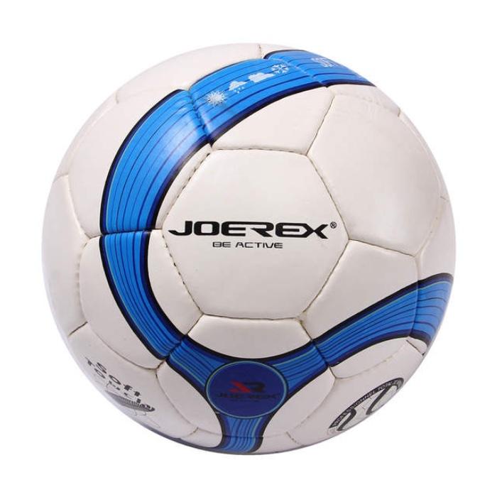 Мяч футбольный JOEREX JMS004-1, белый, синий мяч футбольный joerex 5 jis010