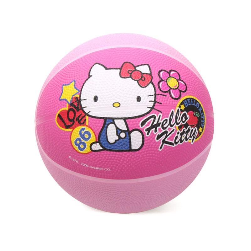 Мяч баскетбольный Hello Kitty Детский мини-баскетбольный мяч., розовый детский поильник hello kitty ktxg01 hellokitty