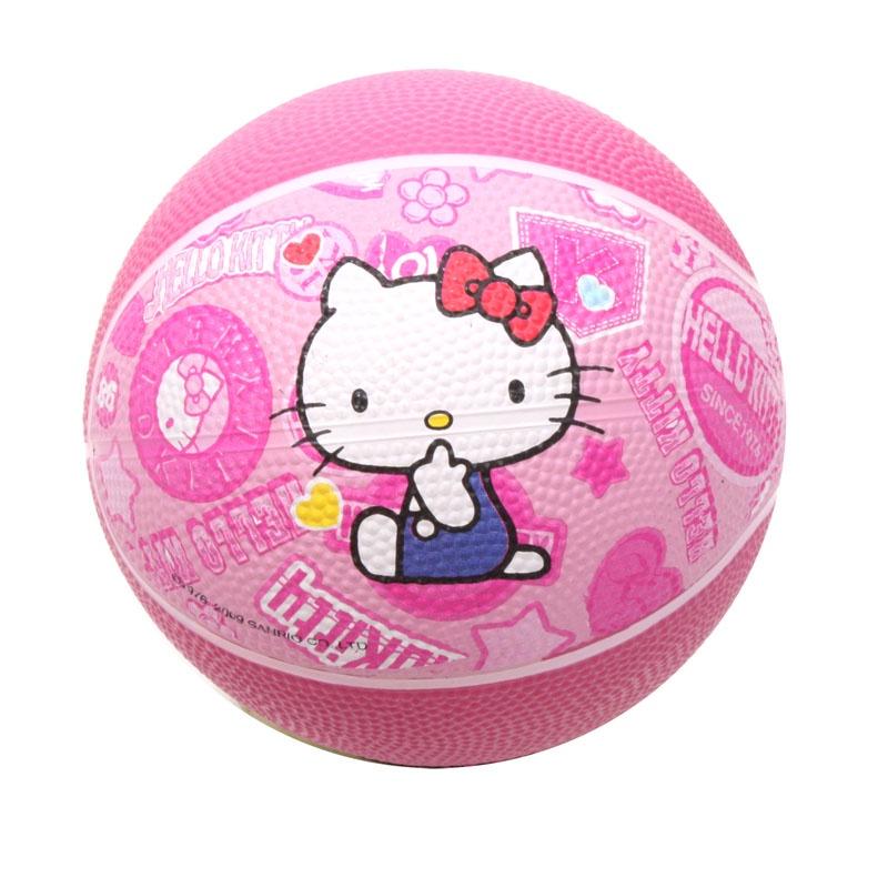 Мяч баскетбольный Hello Kitty HA1101-KC, розовый детский поильник hello kitty ktxg01 hellokitty