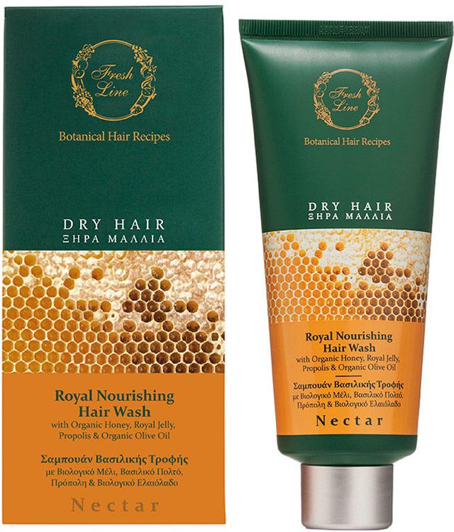 Шампунь Fresh Line Нектар, для сухих волос, 200 мл line шампунь