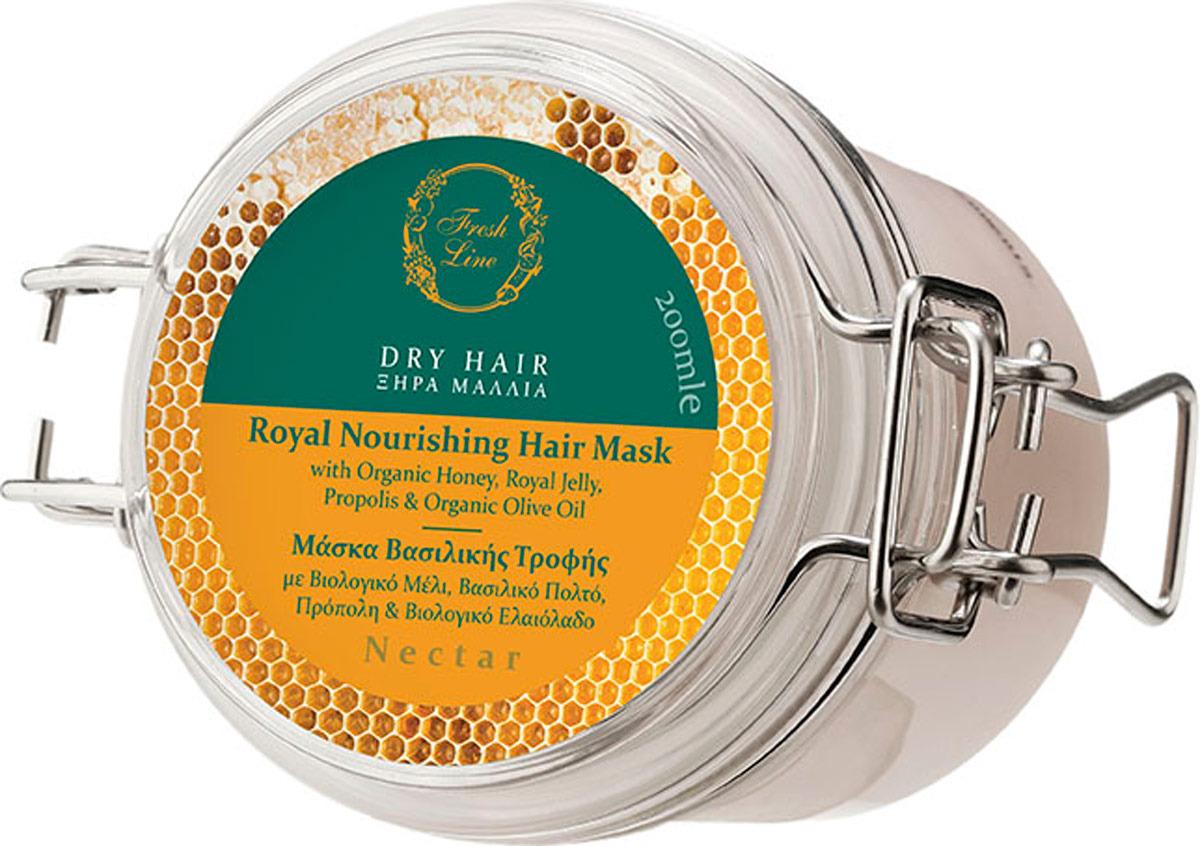 Маска Fresh Line Нектар, для сухих волос, 200 мл маска для волос яйцо мед