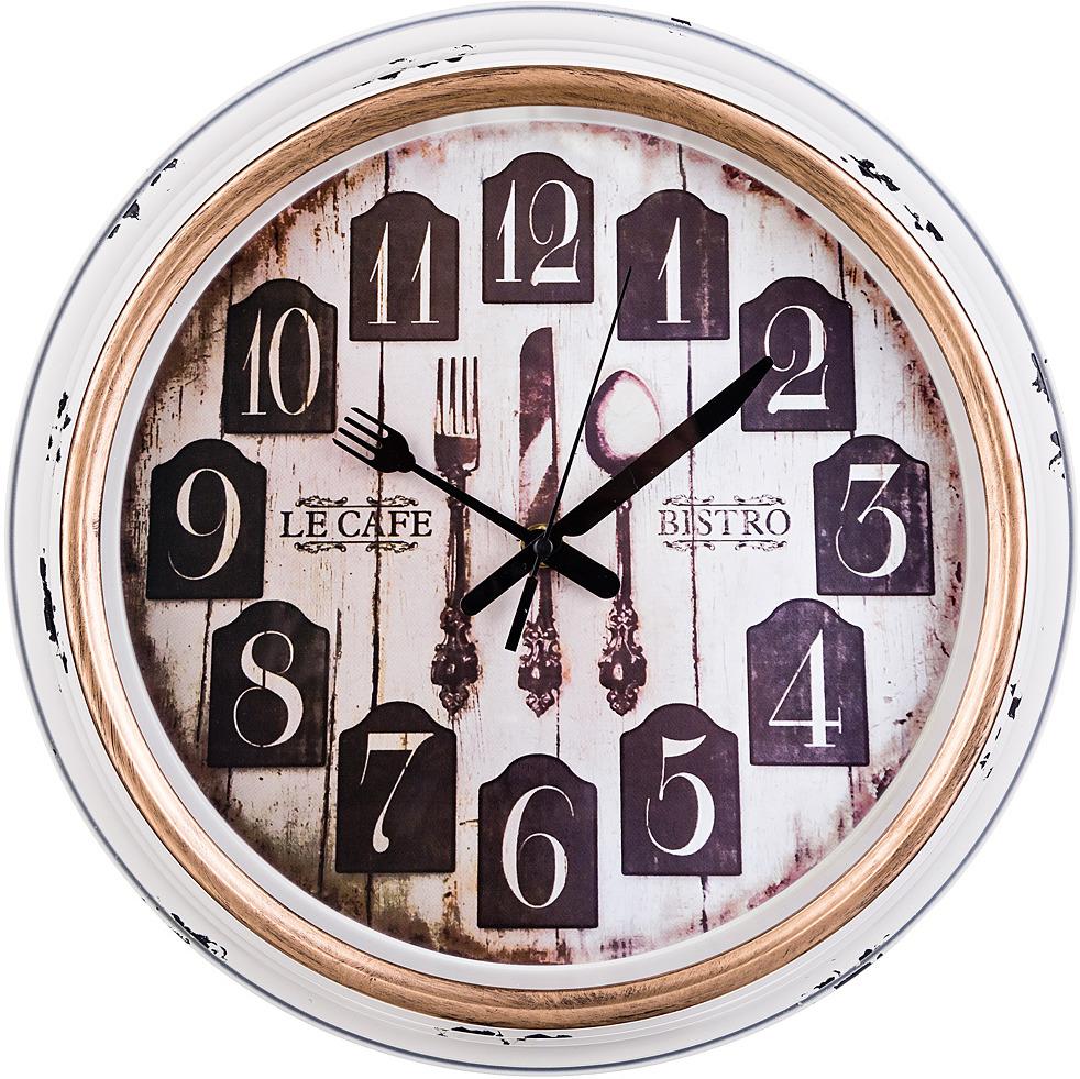 Настенные часы Lefard Кухня мира, 220-285, диаметр 36 см все цены