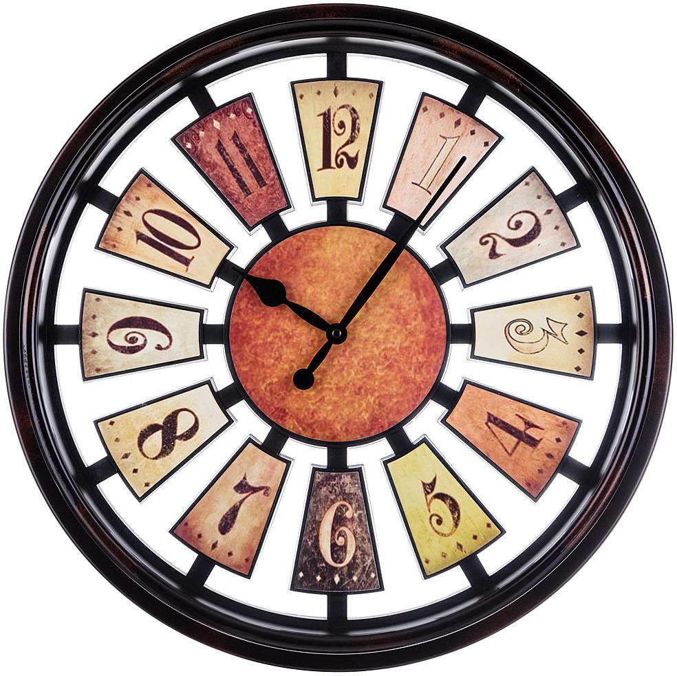 Настенные часы Lefard Рулетка, 220-308, диаметр 50 см