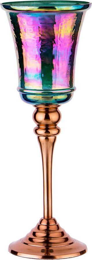 Подсвечник Lefard, 730-214, разноцветный, 10,5 х 10,5 х 27 см
