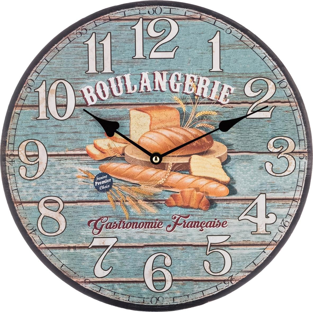 Настенные часы Lefard Винтаж, 799-144, 34 х 34 х 4,5 см фоторамки lefard фоторамка винтаж 1х19х24 см