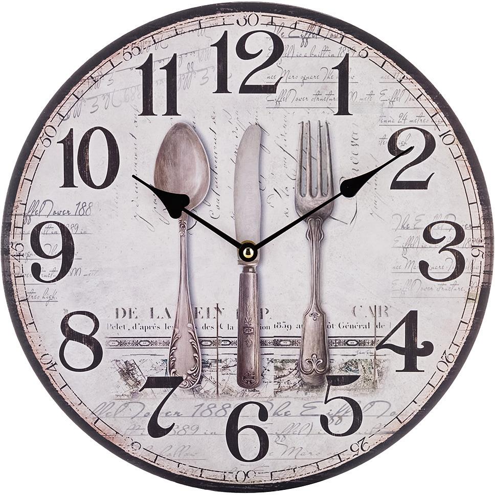 Настенные часы Lefard Винтаж, 799-152, 34 х 34 х 4,5 см фоторамки lefard фоторамка винтаж 1х19х24 см