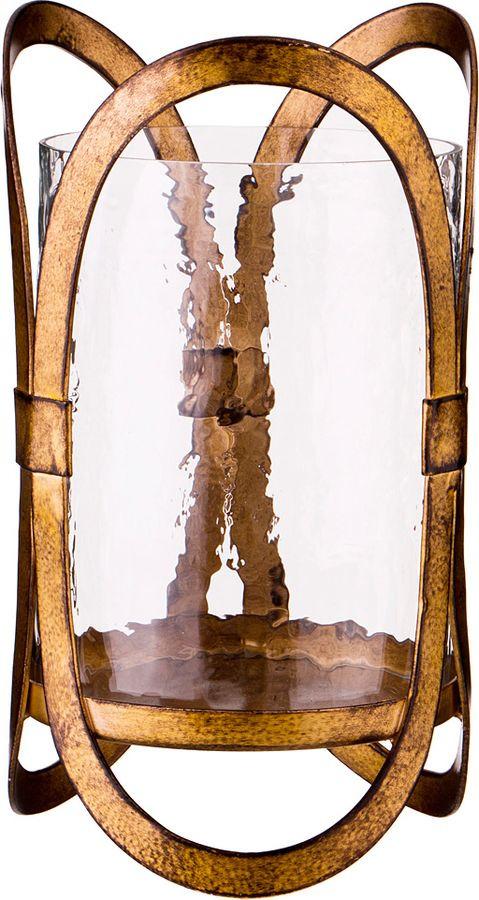 Подсвечник Lefard, 730-229, бронза, 13 х 12,75 22,75 см