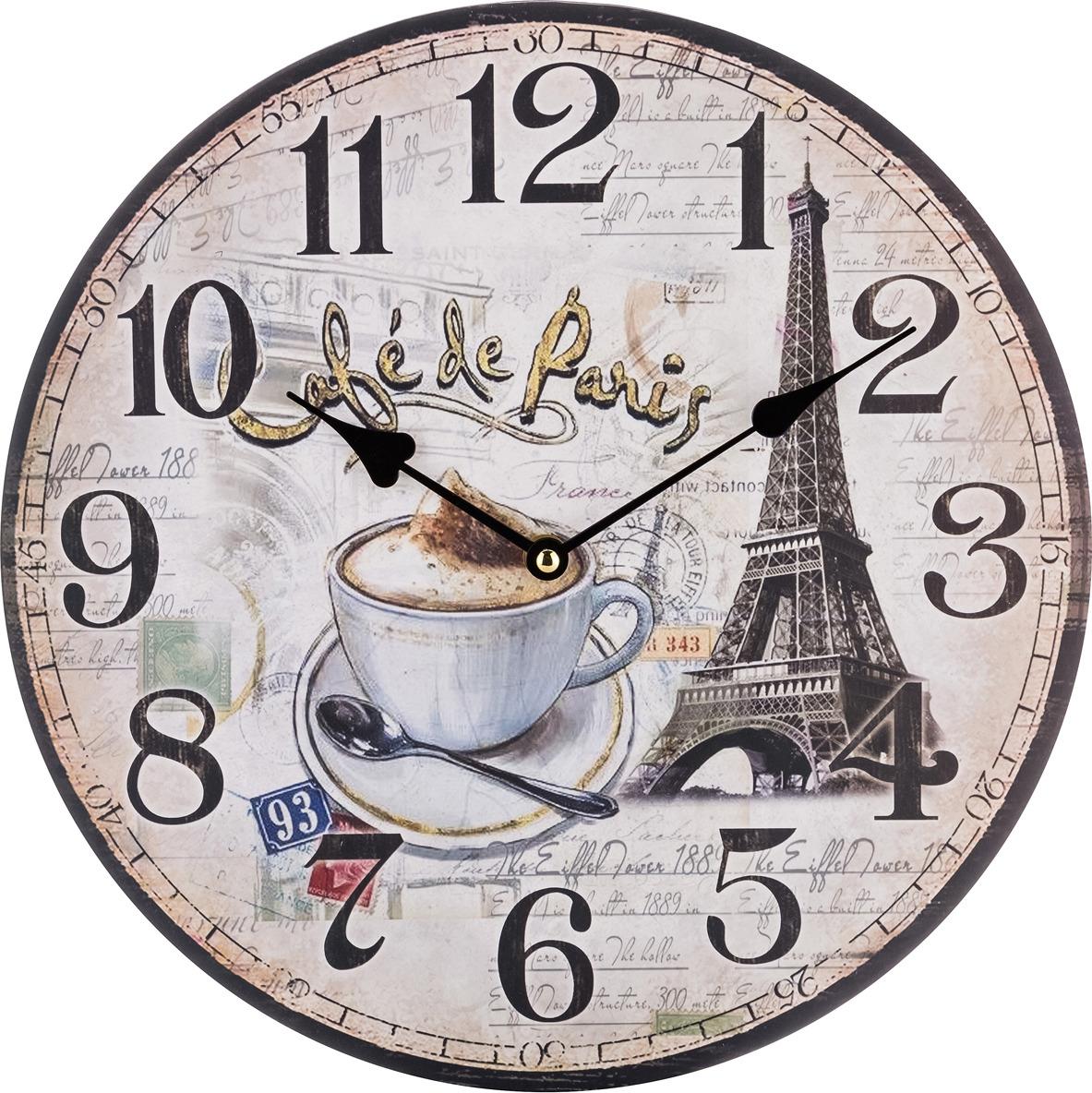 Настенные часы Lefard Париж, 799-153, 34 х 34 х 4,5 см