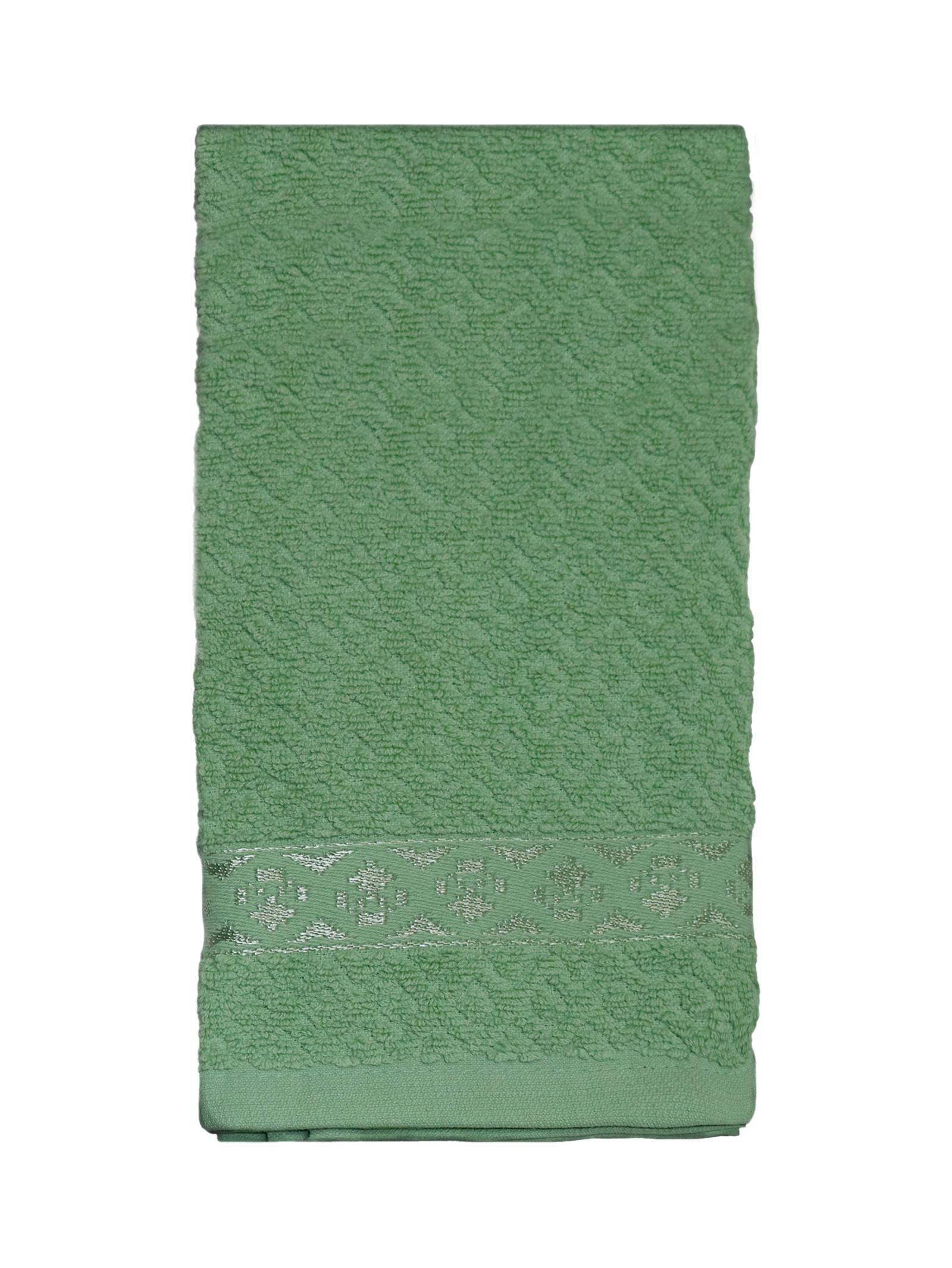 Полотенце кухонное DeНАСТИЯ кухонное, 40х60 см, зеленый полотенце кухонное мультидом русский стиль 42 72 см