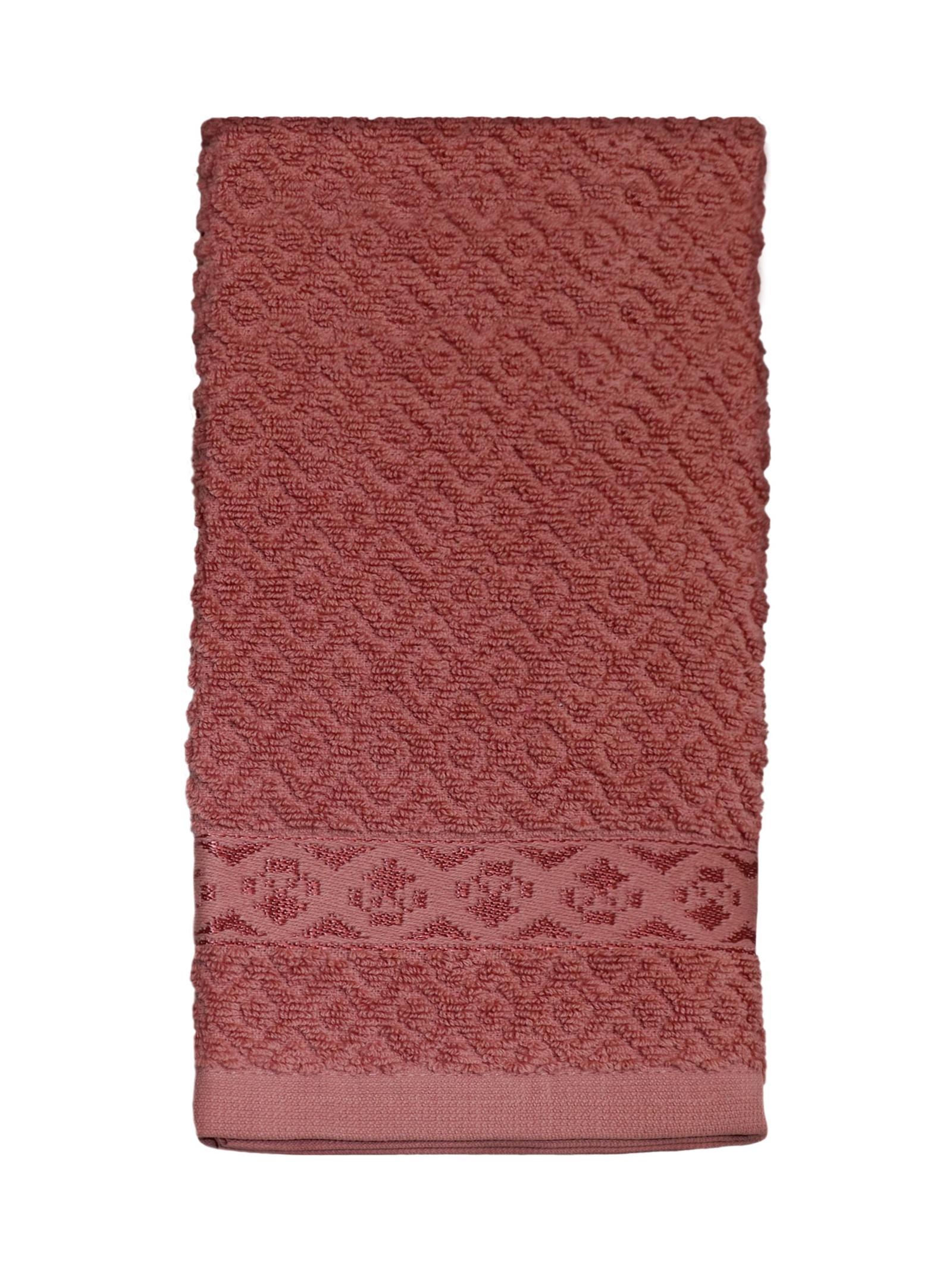Полотенце кухонное DeНАСТИЯ кухонное, 40х60 см, темно-розовый полотенце кухонное мультидом русский стиль 42 72 см
