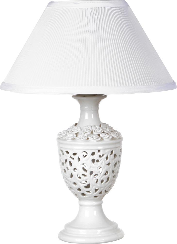 Светильник настольный Lefard Вуаль, 64-332, белый