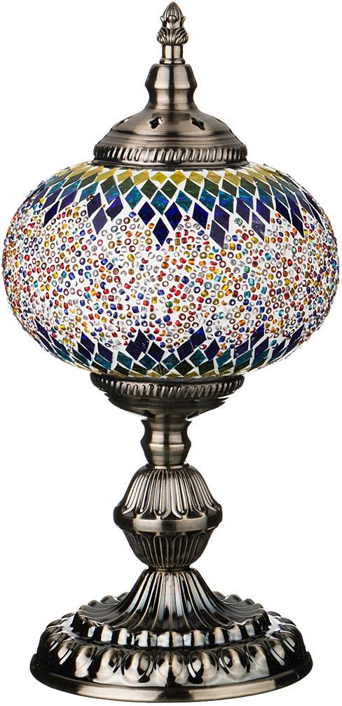 Светильник настольный Lefard, 212-066, разноцветный, 15 х 15 х 35 см teak house светильник настольный king