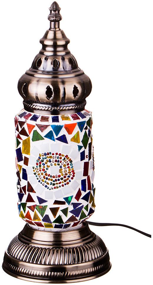 Светильник настольный Lefard, 212-074, разноцветный, 11,5 х 11,5 х 35 см
