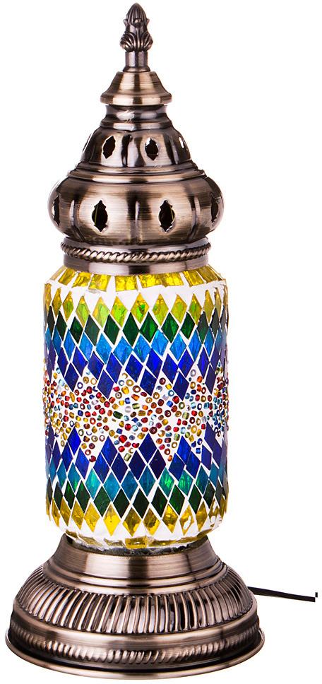 Светильник настольный Lefard, 212-076, разноцветный, 11,5 х 11,5 х 35 см