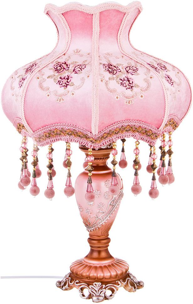 Светильник Lefard, 243-063, розовый, высота 50 см абажур войной из хлопка epilogon диаметр 40 см