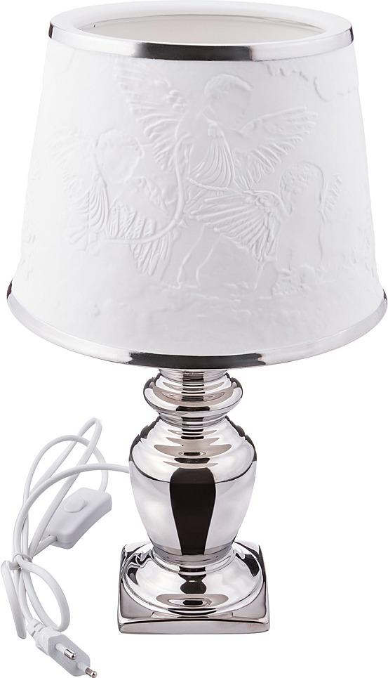 Светильник настольный Lefard, 763-054, белый teak house светильник настольный king