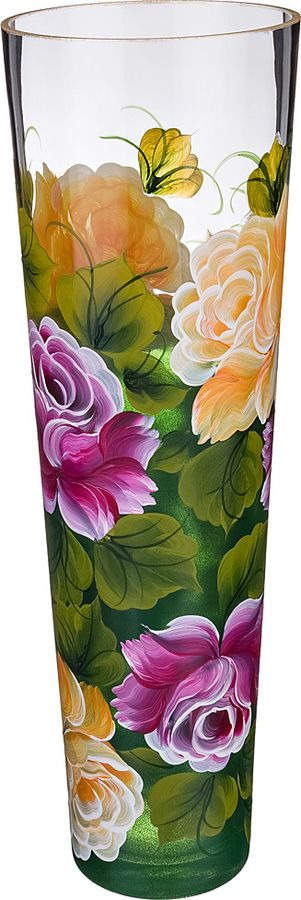 цена на Ваза Lefard Роза, 135-5087, бордовый, высота 40 см