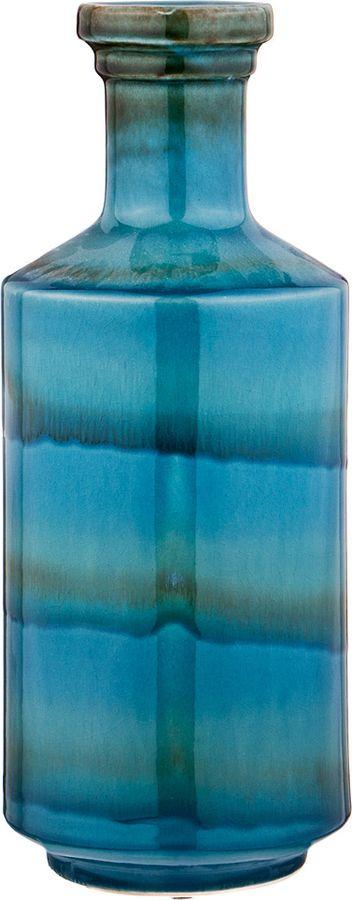Ваза Lefard Коллекция Модный Акцент, 110-399, синий, 14,5 х 14,5 х 35,5 см