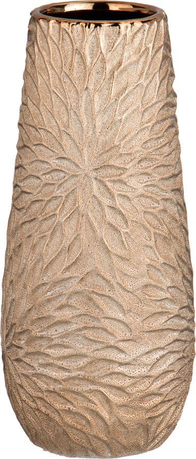 Ваза Lefard Герберы Легкая Бронза, 112-349, бежевый, 14 х 14 х 31,5 см
