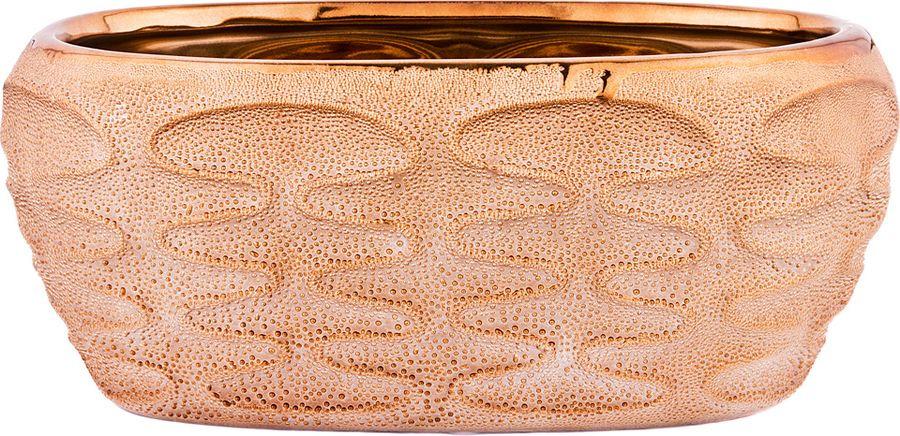Ваза Lefard, 112-449, бежевый, 26 х 15,5 х 11 см ваза lefard 112 431 золотистый 21 х 12 х 34 5 см