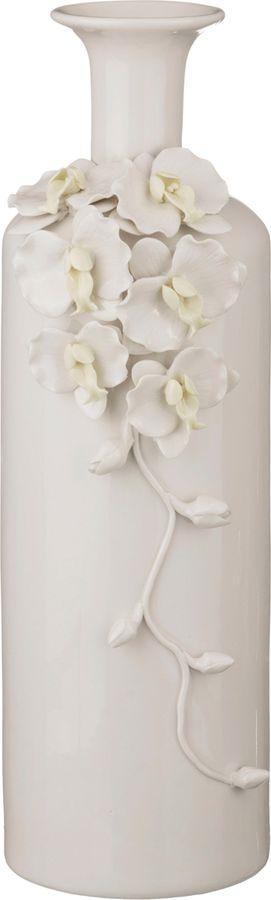 Ваза Lefard Орхидеи, 146-476, белый, 15 х 15 х 45 см стоимость