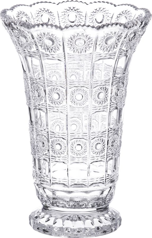 Ваза Lefard Muza Crystal, 195-126, прозрачный, 17 х 17 х 25 см