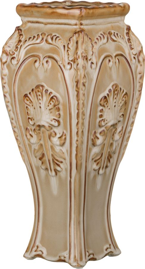 Ваза Lefard Афина, 232-163, коричневый, 12 х 15,5 х 35 см