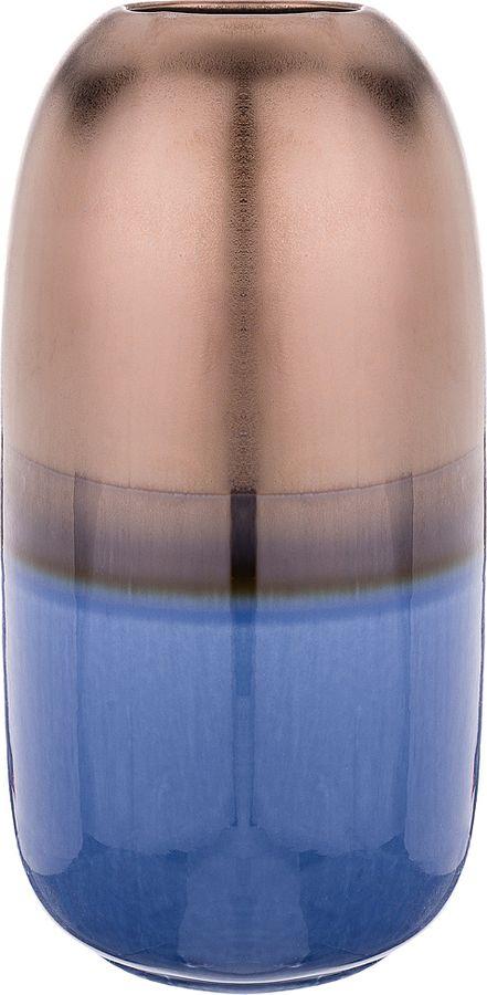 Ваза Lefard, 146-1031, синий, 14,5 х 14,5 х 28,5 см