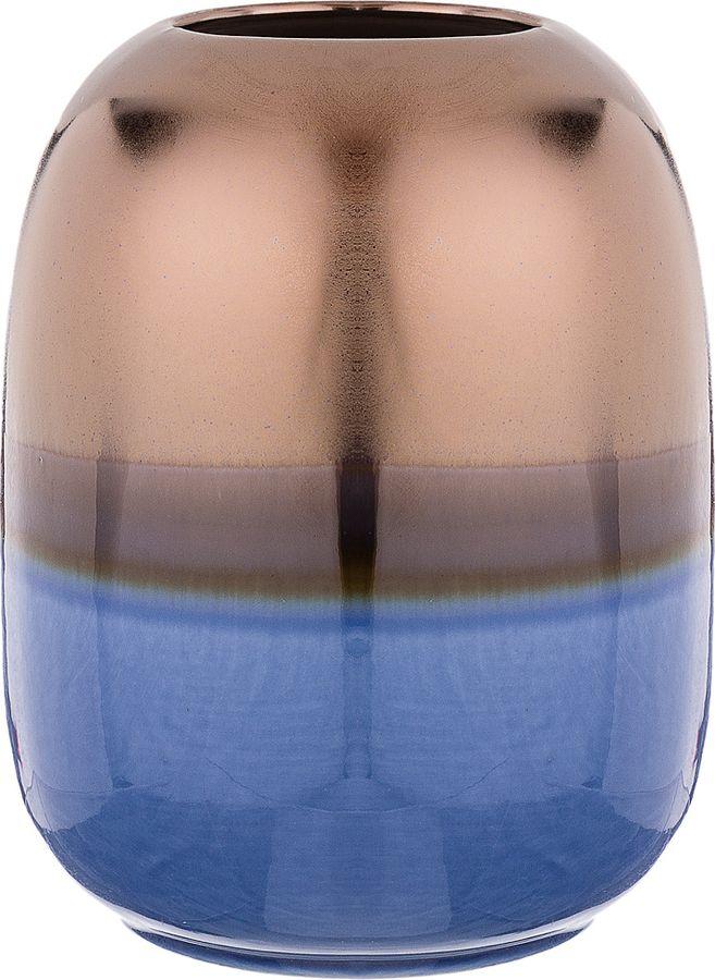 Ваза Lefard, 146-1032, синий, 14 х 14 х 18 см