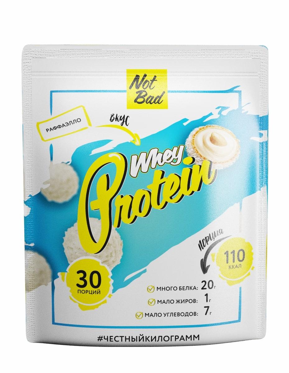 Сывороточный протеин NotBad Whey Protein 1000 г, вкус Рафаэлло