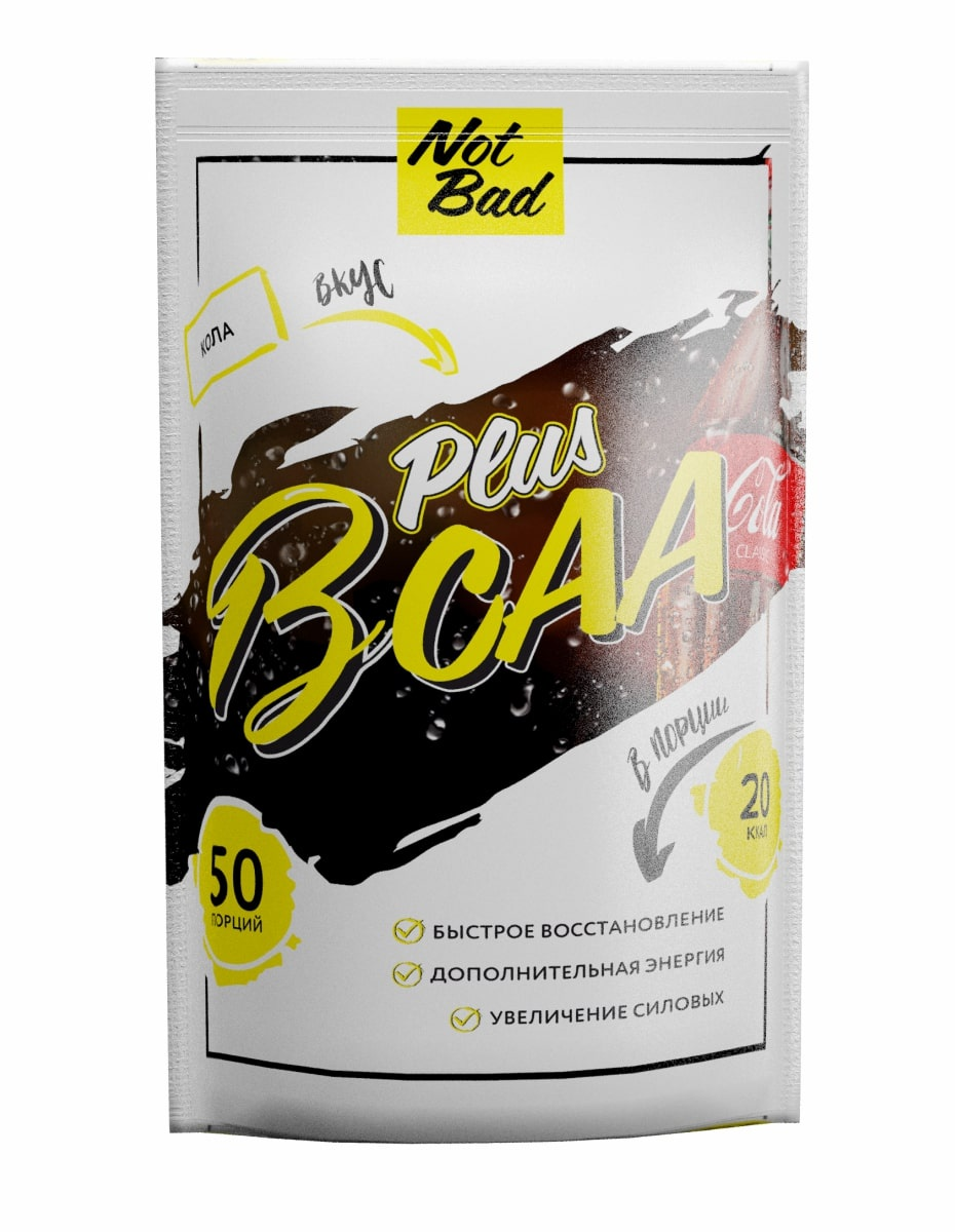 BCAA NotBad Plus 250 г, вкус Кола