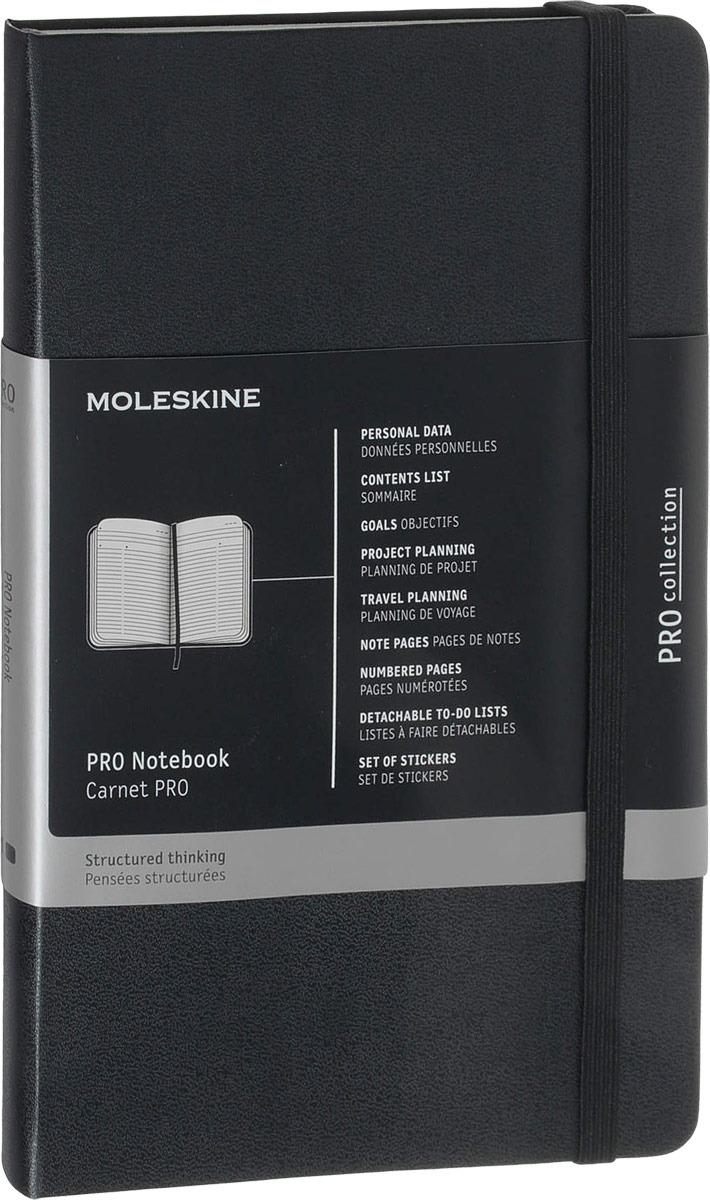 Moleskine Записная книжка Professional Large 120 листов в линейку цвет черный