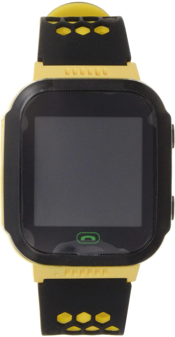Умные часы детские Ginzzu GZ-502 Touch, желтый детские умные часы ginzzu gz 521 brown