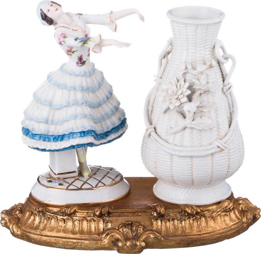Ваза Lefard Танцовщица, 61-346, белый, 25 х 15 х 22 см стоимость