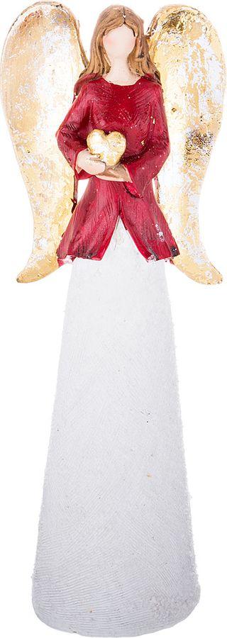 Фигурка декоративная Lefard, 100-570, белый, 26 х 9 х 6 см